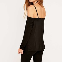 Sparkle & Fade Halter Strap Top - Urban Outfitters