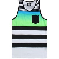 Lost Gotchit Tank Top - Mens Tee - Neon Green