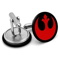 Star Wars Rebel Alliance Red Cufflinks