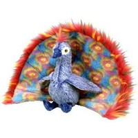 TY Beanie Baby - FLASHY the Peacock [Toy]