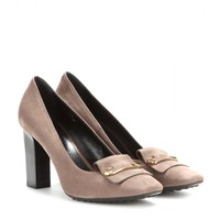 tod's - suede pumps