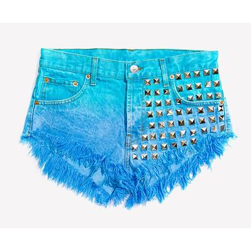 902 Ocean Studded Babe Shorts - Limited