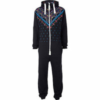 Blue Dirty Roller printed all-in-one - all in ones - loungewear / all in ones - men