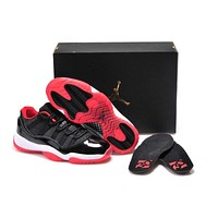 Air Jordan 11 Retro AJ11 Low Bred Basketball Shoes US 5.5-13