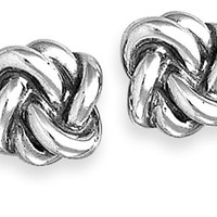 Original Lovers' Knot Ear Posts: James Avery