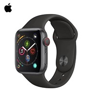 Apple Watch Series 5 44mm Silver Aluminum Case with White/Black/Pink Sport Band,Sports smart he...