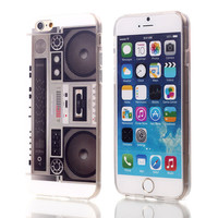 Music System TPU Case For Apple iPhone 6 6S