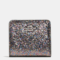 Small Wallet in Glitter Fabric