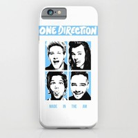 ONE DIRECTION POP SQUARES iPhone & iPod Case by Dan Ron Eli