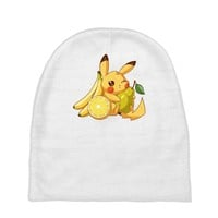 pikachu and fruits Baby Beanies