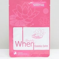 Simply When Cosmic Calm Soothing Sheet Mask at asos.com