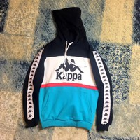 Kappa Hooded Top Pullover Sweater Sweatshirt Hoodie
