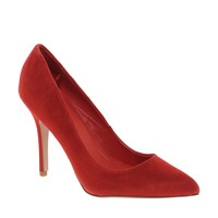 Mango Consta Leather Heeled Court Shoes