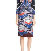 Mary Katrantzou Butterfly Print Crepe Dress | Nordstrom