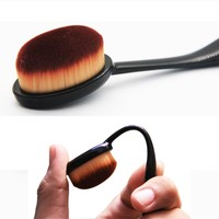 1pcs Portable Soft Face Toothbrush Makeup Face Nose Blackhead Cleaning Powder Concealer Cosmetic Mini Brush pincel maquillaje