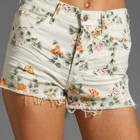Citizens Of Humanity Jeans Chloe High Waist Cut Off Short in Natural from REVOLVEclothing.com