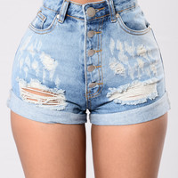 Who Wears Short Shorts - Denim