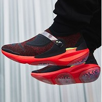 NIKE JOYRIDE CC fashion particle cushioning men's and women's sports running shoes Black&Red