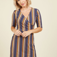 The Time is Bright Wrap Dress | Mod Retro Vintage Dresses | ModCloth.com