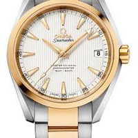 Omega - Seamaster Aqua Terra 150 M Master Co-Axial 38.5 mm - Stainless Steel And Yellow Gold