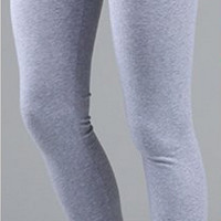 FULL LENGTH COTTON LEGGINGS: S-L