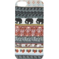With Love From CA Tribal Elephant iPhone 5/5S Case - Womens Scarves - Multi - One
