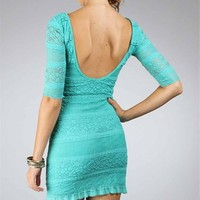 Mint Lace Dresses