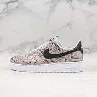 Nike Air Force 1 Low 'Cocoa Snake' Sneakers - Best Online Sale