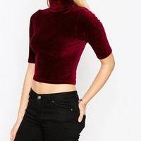 ASOS Turtleneck In Stretch Cord