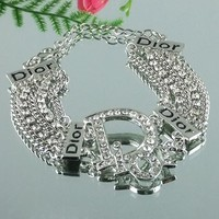 8DESS Dior Woman Accessories Fine Jewelry Chain Bracelet