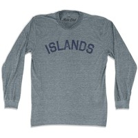 Islands City Vintage Long Sleeve T-shirt
