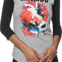 A-Lab Catnado Baseball T-Shirt