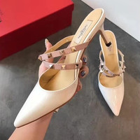 shosouvenir (Valentino) Top rivet high heel shoes