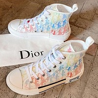 Dior ladies men's fashion casual sneakers shoes