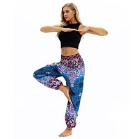 Boho Thai Printed Harem Pants - (26 Unisex Patterns)