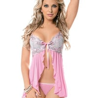 Sweet Bouquet Babydoll