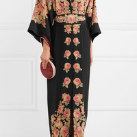 Vilshenko - Bolce floral-print silk dress