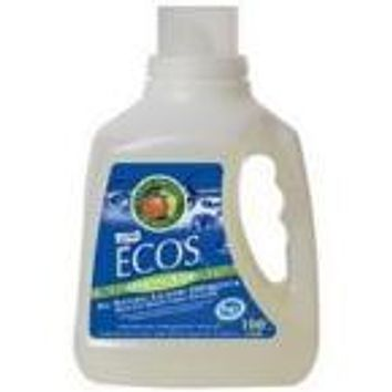 Earth Friendly Ecos Lemongrass Ultra Liquid Detergent (4x100 Oz)