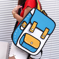 Fashion Tide manga backpack GV823DD