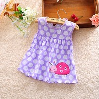 Monkids Cute Girls Clothing Dresses Baby Dress Girls Clothing Dresses 2017 Summer Baby Princess Infant Newborn Baby Clothes