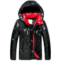 discount  Moncler Men's Down Jacket Fashion  jacket  / Black