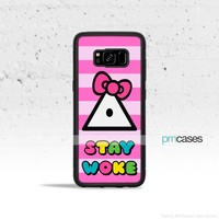 Stay Woke Kitty Phone Case Cover for Samsung Galaxy S & Note Series