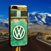 Vintage VW Retro - ArtCover - Hard Print Case iPhone 4/4s, 5, 5s, 5c and Samsung S3, S4