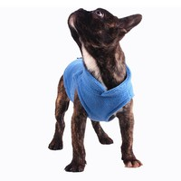New Dog Clothes For Small Dogs Fleece Jacket Coat Winter Warm Vest Clothing With Leash Hole Size XS-XXL