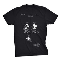 Mickey Mouse Patent T-Shirt