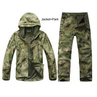 Waterproof/ Thermal Camouflage Outerwear Set/ 13 Available Patterns