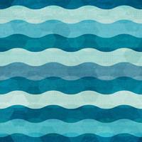 Ombre Squiggles Removable Wallpaper Decal