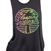 Sleeping With Sirens | Tropic Muscle Tank
