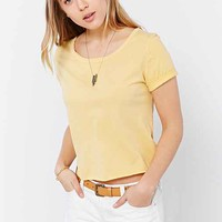 Truly Madly Deeply Raw Deal Cropped Top