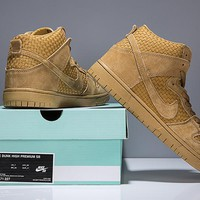 Nike SB Dunk Hi Weave Wheat 313171-227 Sneaker